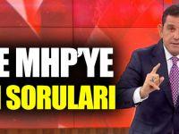 Fatih Portakal'dan AKP Ve MHP'ye Öcalan Soruları