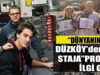"""""""Dünyanın Merkezi Düzköy'den Avrupa'ya Staja"""" Projesi Büyük İlgi Gördü."""