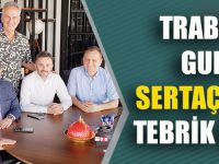 Trabzon'un Gururu Sertaç Güven'e Tebrik Ziyareti!