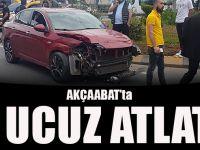 Akçaabat'ta Kaza Ucuz Atlatıldı