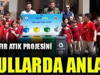 Büyükşehir, Sıfır Atık Projesini İlkokullarda Anlatıyor