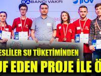 Trabzonlu Liseliler Su Tüketiminden Tasarruf Eden Proje İle Ödül Aldı