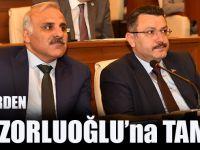 Siyasi Partilerden Başkan Zorluoğlu'na Tam Destek