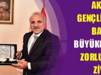 Ak Parti Gençlik Kolları Başkanı Büyükgümüş'ten Zorluoğlu'na Ziyaret