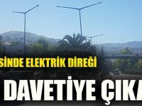 Akçaabat İlçesinde Elektrik Direği Ölüme Davetiye Çıkarıyor
