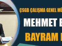 Mehmet Baş Ramazan Bayramı Münasebetiyle Bir Mesaj Yayınladı.