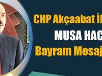 Musa Hacıoğlu Ramazan Bayramı Münasebetiyle Bir Mesaj Yayınladı.