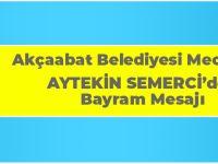 Aytekin Semerci Ramazan Bayramı Münasebetiyle Bir Mesaj Yayınladı.