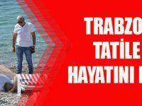 Trabzon'dan Antalya'ya Tatile Gitti, Ölüm Kumsalda Yakaladı