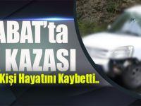 Akçaabat'ta Trafik Kazası:1 Kişi Hayatını Kaybetti..