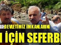 """Başkan Zorluoğlu: """"Devletimiz İmkânlarını Araklı İçin Seferber Etti"""""""