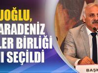 Zorluoğlu, Doğu Karadeniz Belediyeler Birliği Başkanı Seçildi