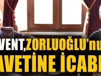 Haluk Levent, Zorluoğlu'nun Çay Davetine İcabet Etti