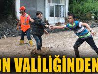 Trabzon Valiliğinden Uyarı!