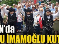 Trabzon'da Horonlu İmamoğlu Kutlaması