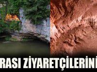 Düzköy Çal Mağarası Ziyaretçilerini Bekliyor