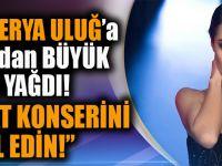 Derya Uluğ'a Trabzon'dan Büyük Tepki Yağdı,Akçaabat Konserini İptal Edin