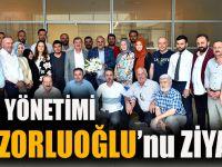 Ak Parti İl Yönetimi, Başkan Zorluoğlu'nu Ziyaret Etti