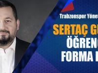 Trabzonsporlu Yönetici Sertaç Güven'den Öğrencilere Forma Desteği