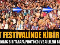 Akçaabat Festivalinde Kibir Bariyeri!