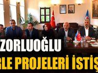 Başkan Zorluoğlu Vekillerle Projeleri İstişare Etti