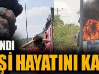 Balıkesir'de Otobüs Yandı: Beş Kişi Hayatını Kaybetti