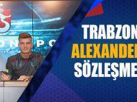 Trabzonspor'da Alexander Sörloth Sözleşme İmzaladı