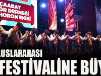 Trabzon'da Uluslararası Horon Festivaline Büyük İlgi