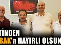 CHP Heyetinden Mustafa Bak'a Hayırlı Olsun Ziyareti!