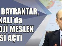 Erdoğan Bayraktar, Halkalı 'da Teknoloji Meslek Lisesi Açtı