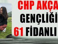 CHP Akçaabat Gençliğinden 61 Fidanlı Tepki!
