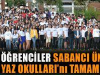 Trabzonlu Öğrenciler Sabancı Üniversitesi Lise Yaz Okulları'nı Tamamladı