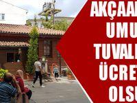 Akçaabat'ta Umumi Tuvaletler Ücretsiz Olsun!