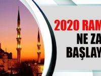 Ramazan Ayı Ne Zaman Başlayacak? 2020 Ramazan Bayramı Tarihi