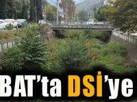 Akçaabat İlçesinde DSİ'ye Tepki!