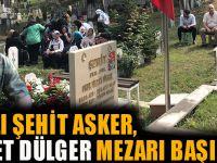 Akçaabat'ta Şehit Asker Mezarı Başında Anıldı