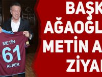 Trabzonspor'dan Metin Alper'e Ziyaret