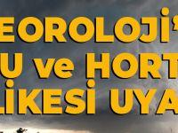 Meteoroloji'den Dolu Ve Hortum Tehlikesi Uyarısı!
