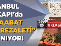 İstanbul'da Devam Eden Trabzon Tanıtım Günlerinde Akçaabat Köftesini Rezil Ettiler!