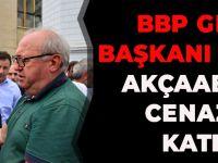 BBP Genel Başkanı Destici, Akçaabat'ta Cenazeye Katıldı