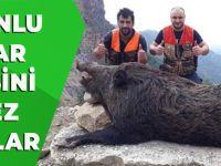 Trabzonlu Avcılar Böylesini İlk Kez Vurdular