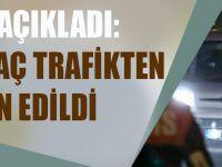 EGM Açıkladı: Bin 598 Araç Trafikten Men Edildi