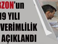 Trabzon'un 2019 Yılı Toprak Verimlilik Raporu Açıklandı