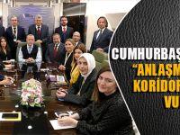 Cumhurbaşkanı Erdoğan: Anlaşma İle Terör Koridoruna Darbe Vurduk