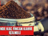 Her Gün Kahve İçmenin Faydalarını Biliyor Musunuz?
