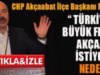 CHP Akçaabat İlçe Başkanı Musa Hacıoğlu'ndan Fen Lisesi Vurgusu!