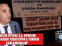 Akçaabatlı Siyasetçi ve İş Adamı Ömer Hacısalihoğlu'ndan Çözüm Önerileri!