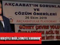 """Akçaabatlılar Platformu Başkanı Hayrullah Ertem """"Doğa Bekçiyle Değil, Sevgiyle Korunur"""""""