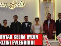 Muhtar Selim Aydın Kızını Evlendirdi