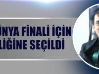 Ali Can, Dünya Finali İçin Jüri Üyeliğine Seçildi